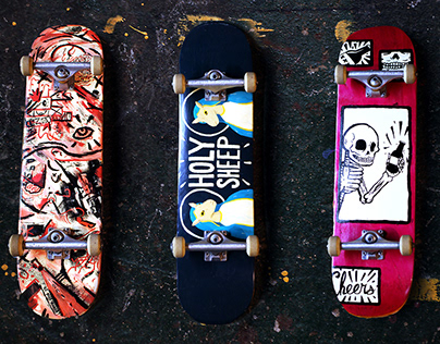 Skateboard design 01