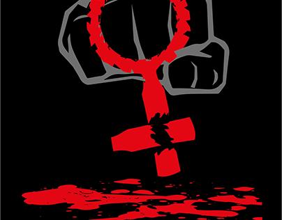 Cartel...(NO a la VIOLENCIA)