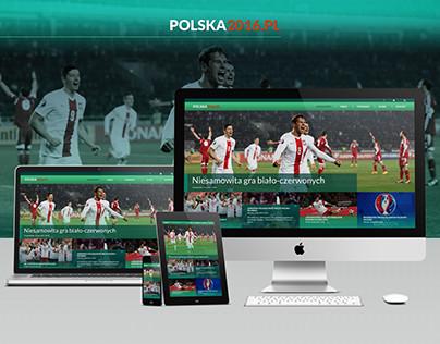 Polska 2016 - landing page