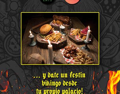Publicidad para Restaurante Ragnarok