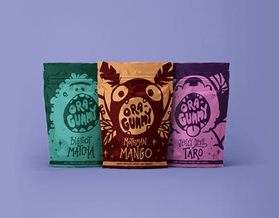 Ora-Gummy Candy Packaging