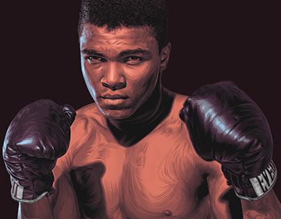 Muhammad Ali | Digital art - vector art