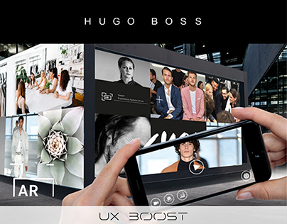 Hugo Boss - 3D Scan & AR Magazin