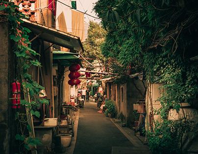 Slums in Hangzhou, China