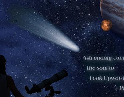 Astronomy composite