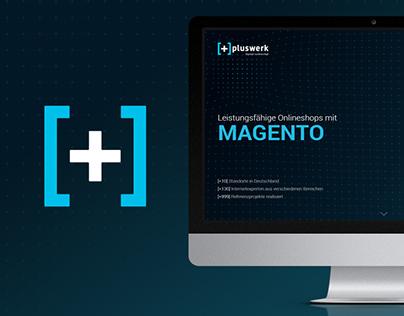 Responsive webdesign for Pluswerk