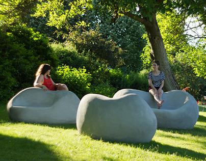 Pebblies - Concrete Lounge Seats