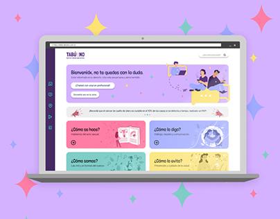 TABÚENO Web ~ UX/UI