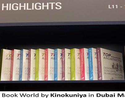 """Book """"Design Concepts in Architecture"""" in Dubai Mall"""