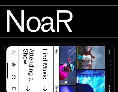 NoiR - AR Service for Music Business