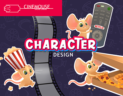 CINEMOUSE character design concept