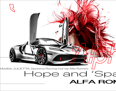 HOPE AND 'SPACE / ALFA ROMEO by D'DWR © Frederic Arvers