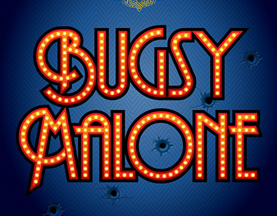 Bugsy Malone Logo/Poster
