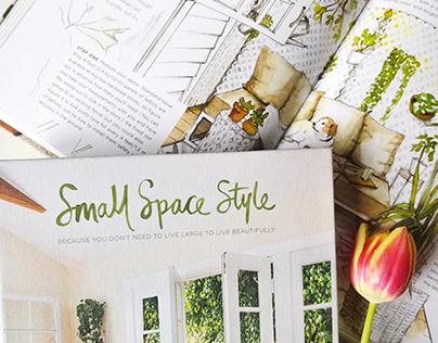 Illustrations for Small Space Style book