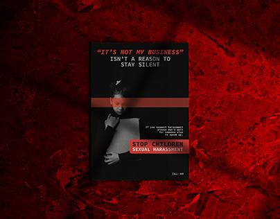 Awareness Poster: Stop Sexual Harassment