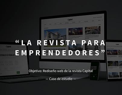 Rediseño Revista Capital
