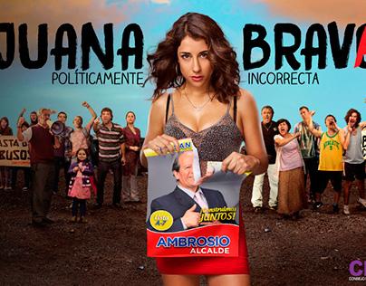 Efectos Visuales serie Juana Brava - Tvn (2015)