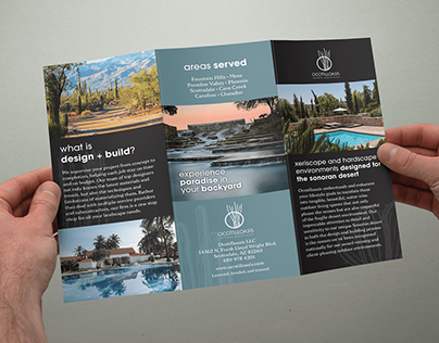 Ocotilloasis Waterwise Landscaping Brochure