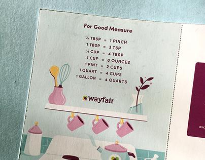 Print Illustrations for Wayfair