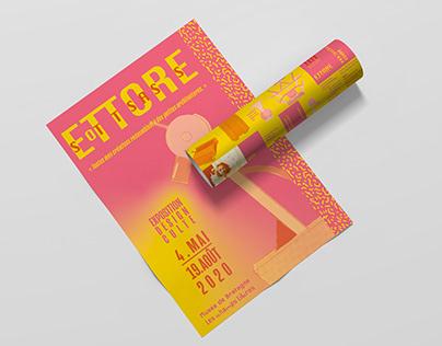 Les grands noms du design, Ettore Sottsass
