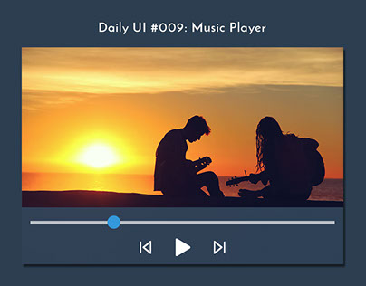 Daily UI Challenge #009: Music Player