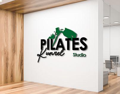 Pilates Logo, Wellness Logo, Sport Logo, Women Logo