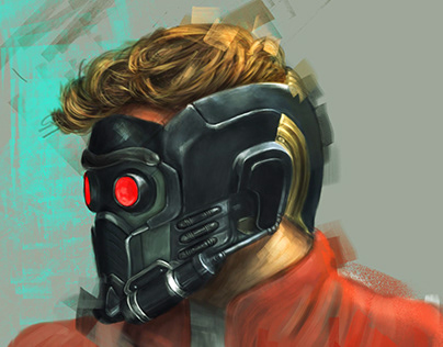Star-Lord, Digital Portrait