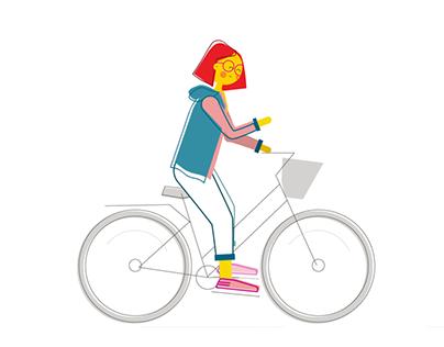 Character Animation // Bicycle Cycle