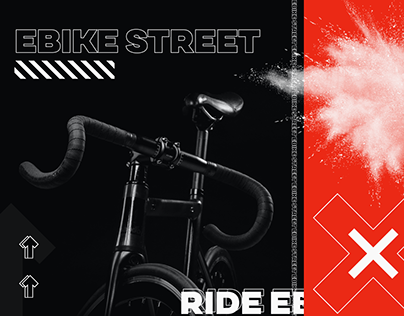 EBike Street | Redesign of Bicycle Information Website
