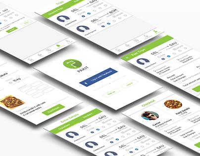 UX/UI for Pakit