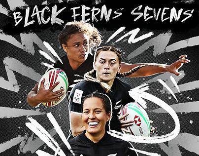 Adidas Rugby - Black Ferns Sevens