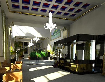 Proposal for the lobby renovation of the Epirus Palace