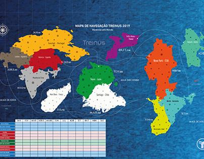 Mapa new world treinus