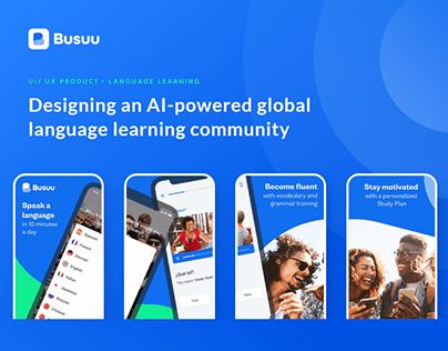 Bussu - an AI-powered language learning platform