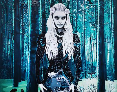 Birgitta S Jansdotter, selection Paintings 2006-2017