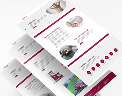 Reuterina   Web Design