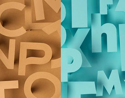 BG Magazine | Parfum & Typography Ads