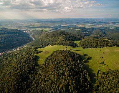 Aerial photography Rudnany