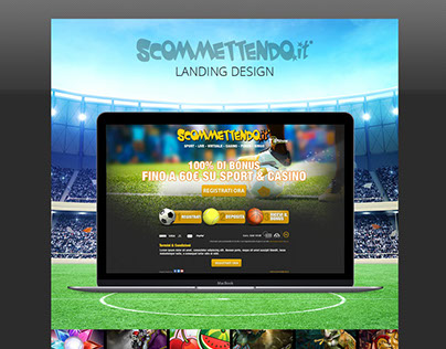Betting landing pages (Scommettendo Srl)