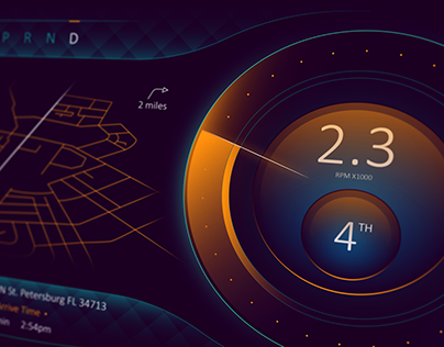 Speedometer Concept UI