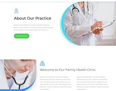 Doctors Office Website