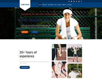 WS Tennis – Tennis WooCommerce WordPress theme