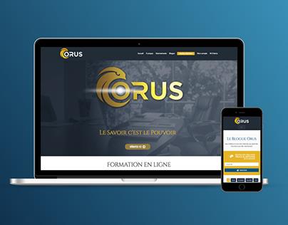 Site Web Orus