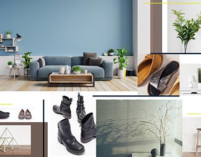 Corporate Design: 8 shoes
