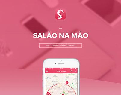 Salão na Mão // App :: Website :: Logotype