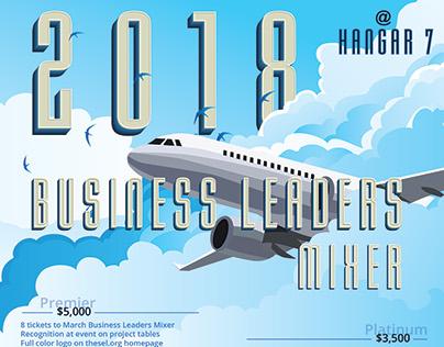 2018 MSEL Business Leaders Sponsorship Flyer