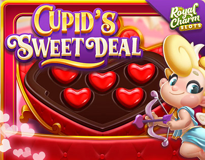 Cupid's themed minigame Art and UI / King's Mobile Game