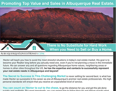 Albuquerque Lovely Homes Flyer