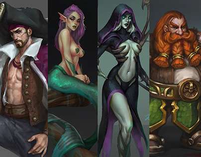 Concepts Characters