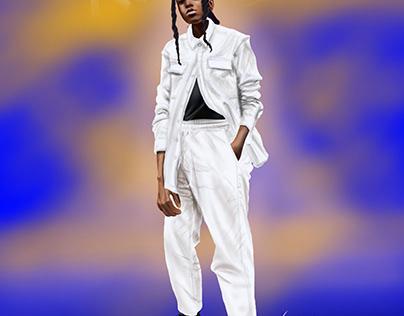 Fan art of Karabo Poppy